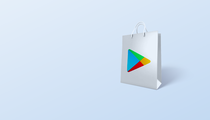 Google Play Store bag